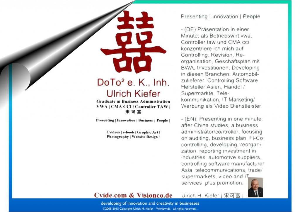 (c)2017 Ulrich Kiefer, Worldwide all rights reserved. Weltweit alle Rechte vorbehalten.